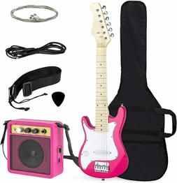 """Best Choice Products 30"""" Kids Electric Guitar Starter Kit Pi"""