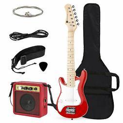 BCP 30in Kids Electric Guitar Instrument Starter Kit w/ 5W A