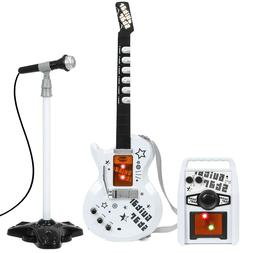 Best Choice Products Kids Electric Guitar Play Set with Wham