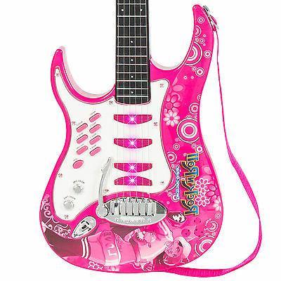 Best Choice Kids Electric Guitar Set W/ Microphone, Amp Children Musical Set-