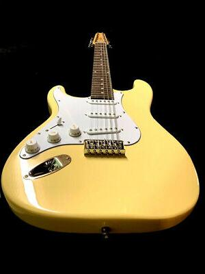 NEW 12 STRING ST STYLE LIGHTWEIGHT VINTAGE WHITE ELECTRIC GU