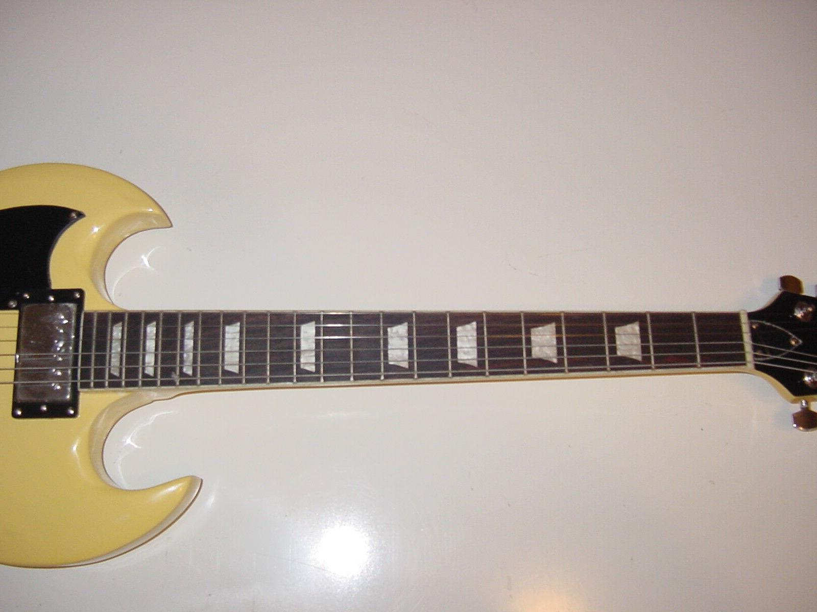 New 6 String Guitar Vintage Blonde Neck