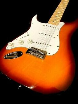 NEW 12 STRING COZART STRAT STYLE NATURAL ELECTRIC GUITAR